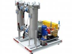 Entzunderungsanlage Aggregat - Descaling equipment aggregate