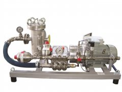 Chemiekalien Einspritzdosierung Aggregat - Chemical injection dosing unit