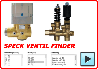 Speck-Triplex Valves Finder